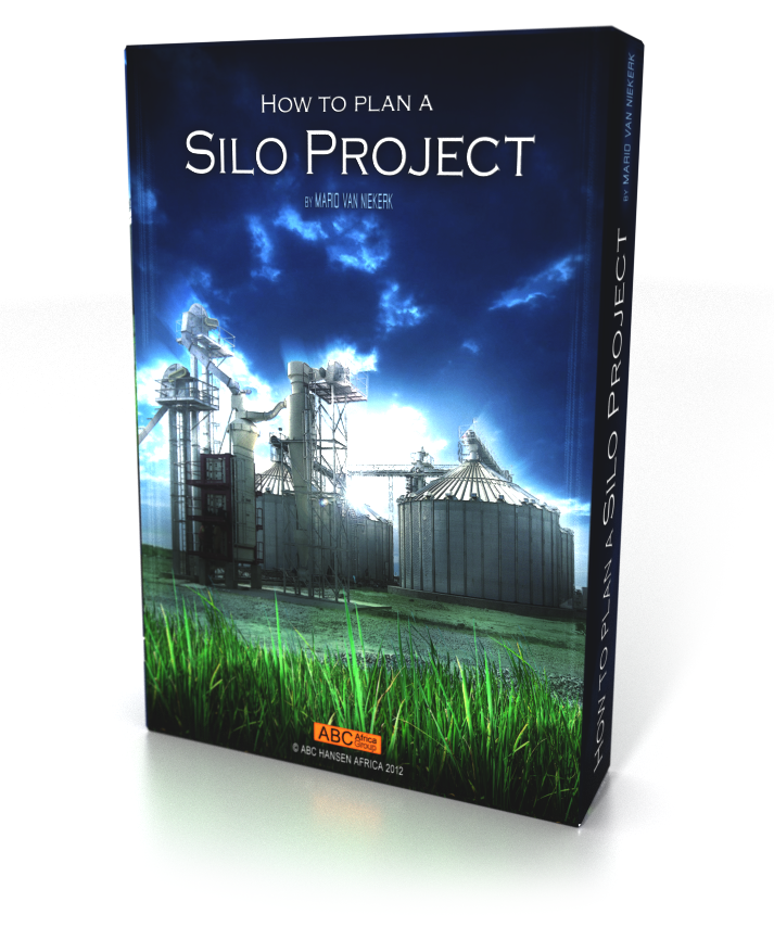 "A digital representation of the ""How to plan a Silo Project Ebook"" by ABC Africa Group"