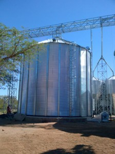 Silo built by ABC Hansen Africa