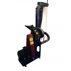 Hippo Baby Hammer Mill - Petrol 5.5 Hp + Air Lift Dust Control